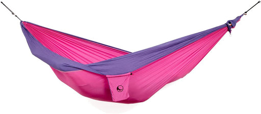 Ticket to the Moon Fair Trade & Handmade 1-2 Person Double/Original Lightweight Hammock for Traveling, Camping and Everyday Use, XL, only 600g, Parachute-Silk, Set-Up < 1 min.