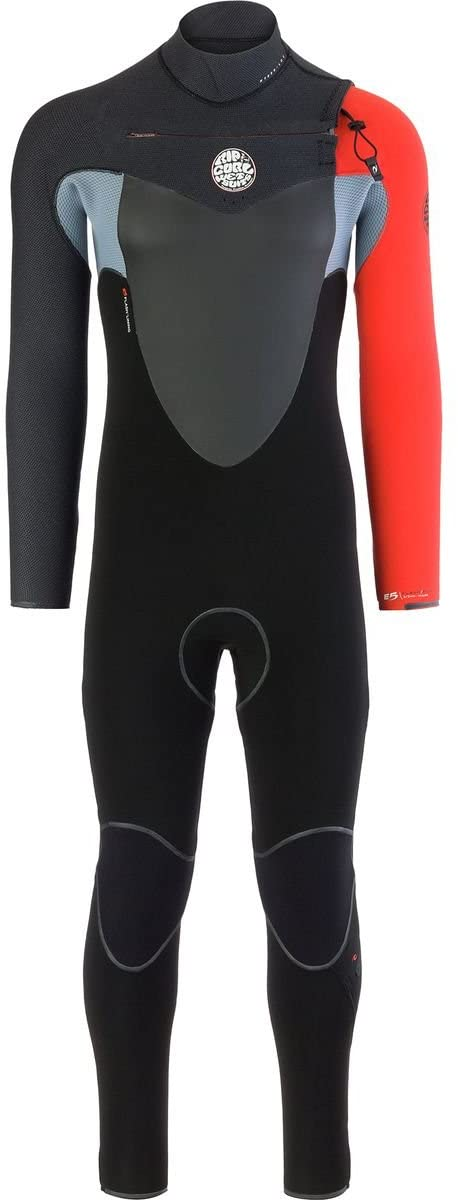 Rip Curl Flashbomb Wetsuit | Men's Full Suit Chest Zip Wetsuit For Surfing, Watersports, Swimming, Snorkeling | Lightweight,