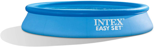 Intex 10 Feet x 24 Inch Easy Set Inflatable Above Ground Pool with Filter, Blue