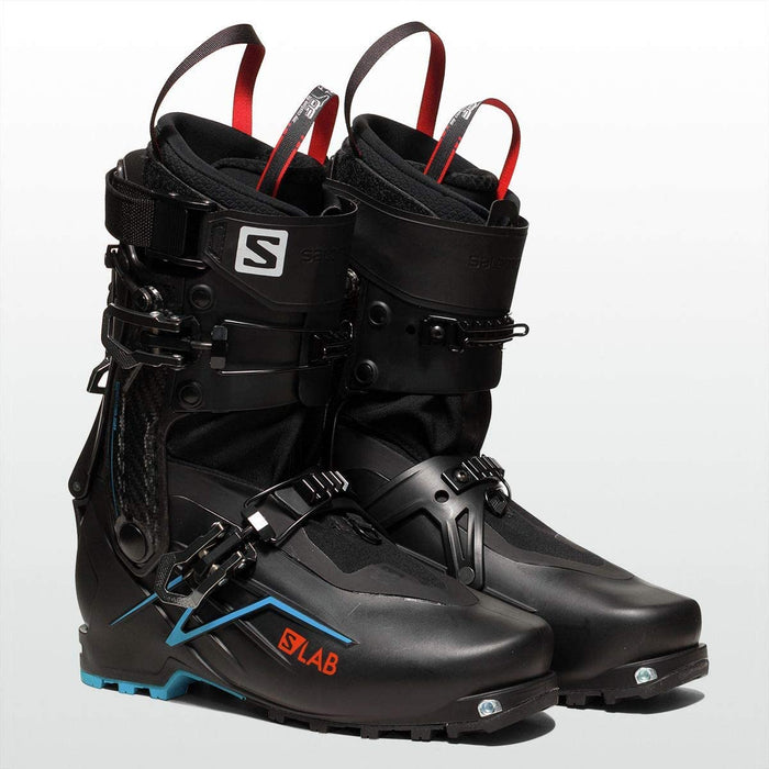 Salomon S/Lab X-Alp Alpine Touring Ski Boot Black/Carbon/Transcend Blue, 26.5