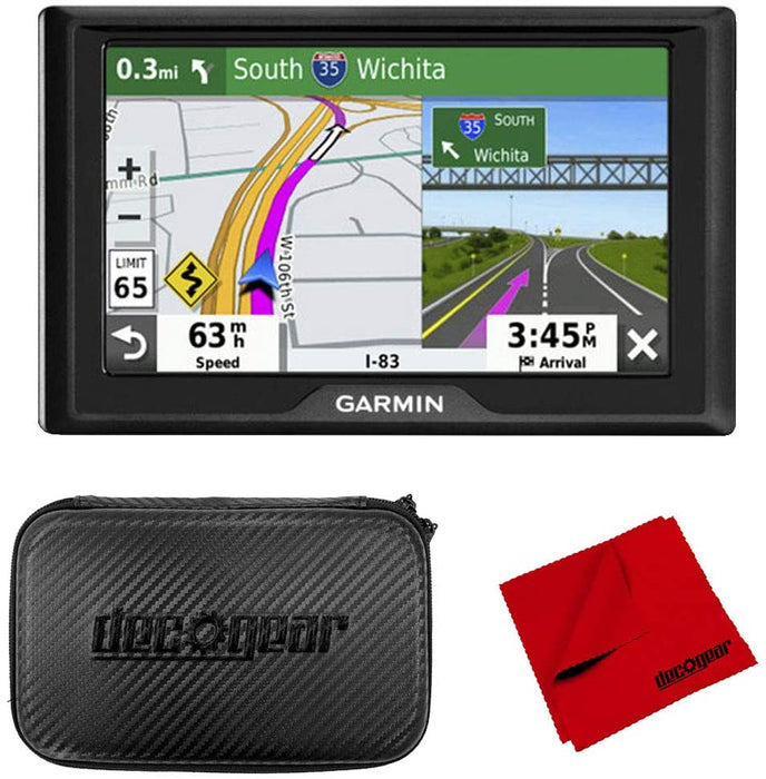 "Garmin Drive 52 5"" GPS Navigator and 7"" EVA Case Bundle (2019 Model)"