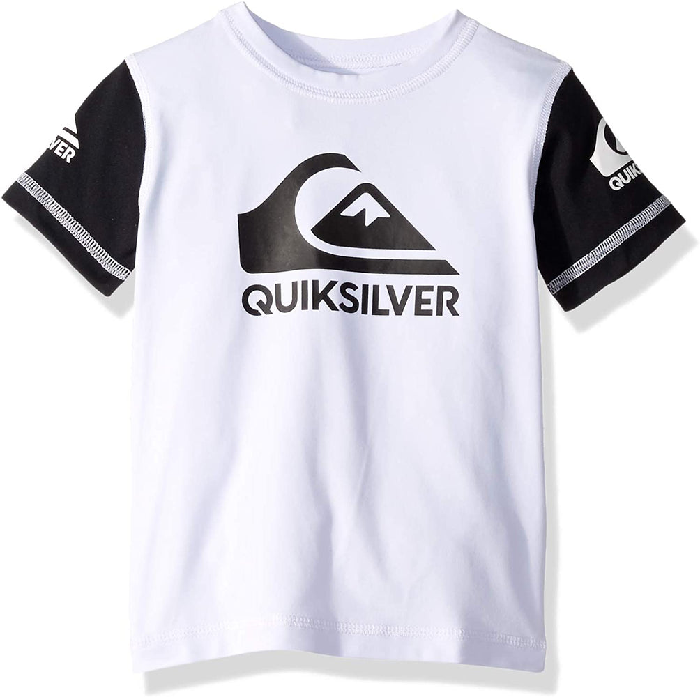 Quiksilver Boys' Big Heats on Short Sleeve Rashguard UPF 50+ Sun Protection