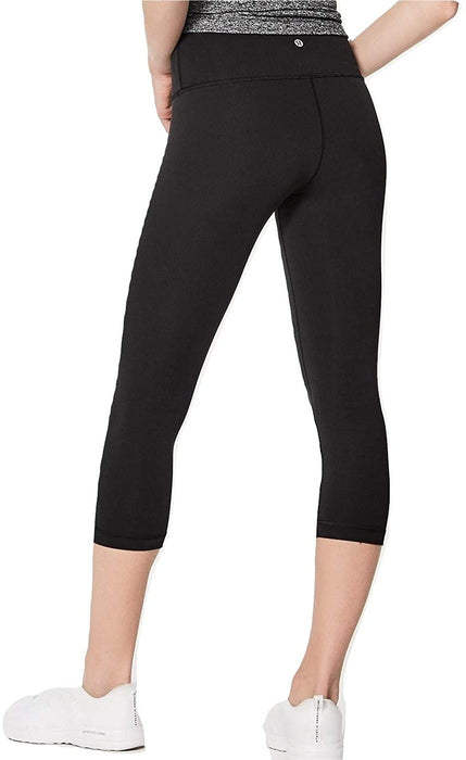 Lululemon Wunder Under Crop High Rise Yoga Pants