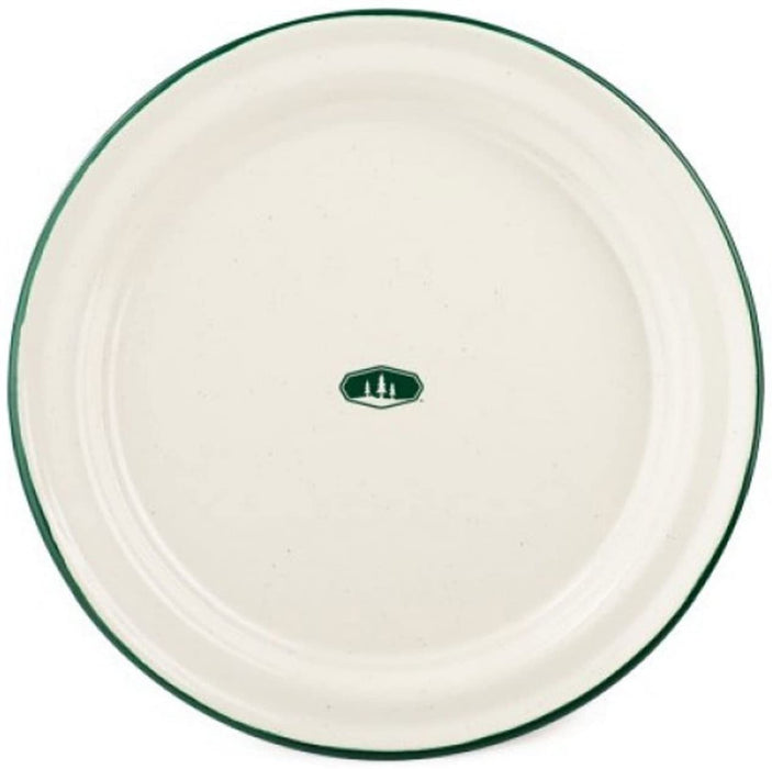 GSI Outdoors 10 Inch Enamelware Plate for Camp
