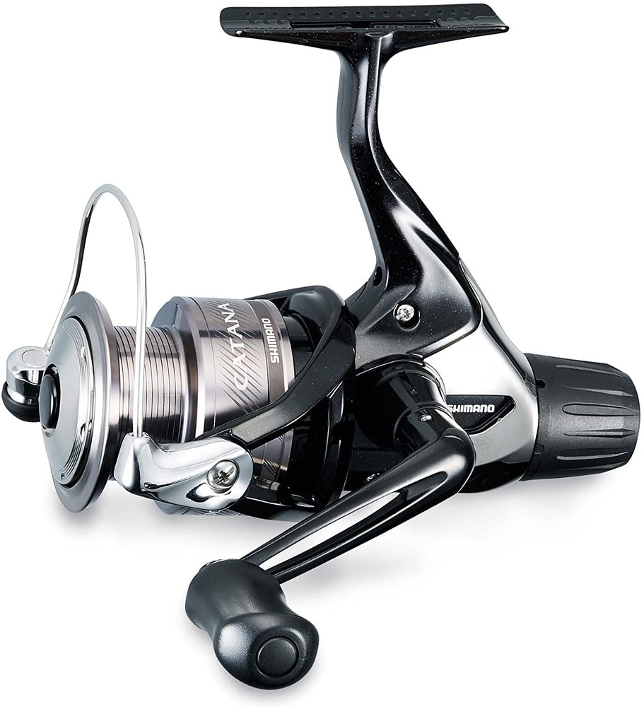 "Shimano Catana Spinning 2500 Size 5.1:1 Gear Ratio 30"" Retrieve Rate 3 Bearings Ambidextrous Reel"