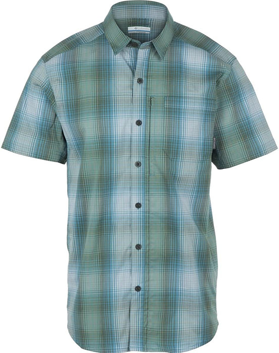 Columbia Men's Global Adventure Iv Yarn Dye Short Sleeve Shirt