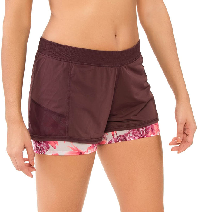 Body Glove Women's Gaia Tinta Performance Fit Short