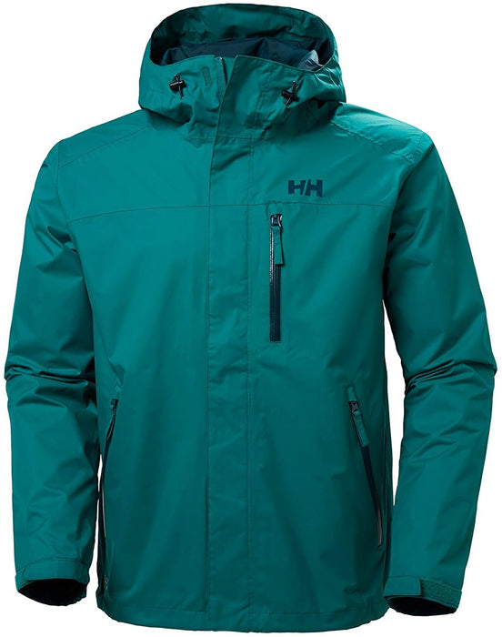 Helly Hansen Men's Vancouver Waterproof Windproof Breathable Hiking Shell Rain Jacket with Hood