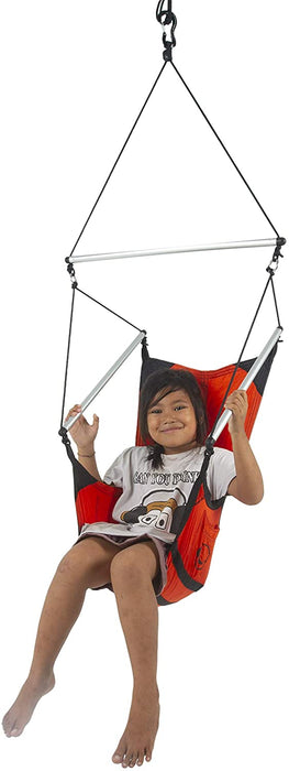 Ticket to the Moon Moonchair Handmade & Fair Trade Comfy, Portable & Adjustable Hanging Chair for your garden, home, holiday, camping, Parachute Silk Nylon, Set-Up < 1 min.