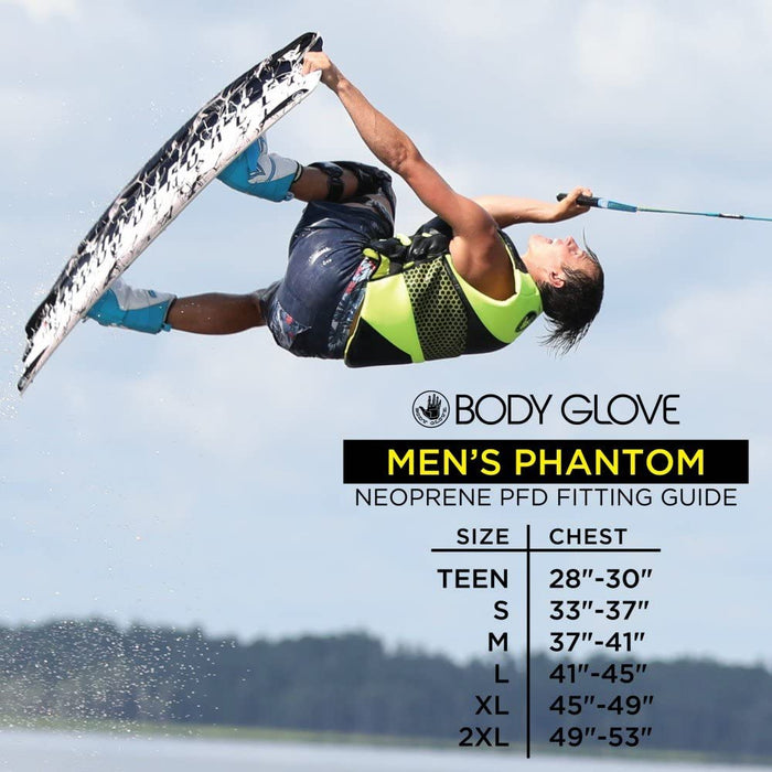 Body Glove Men's Phantom PFD Life Vest