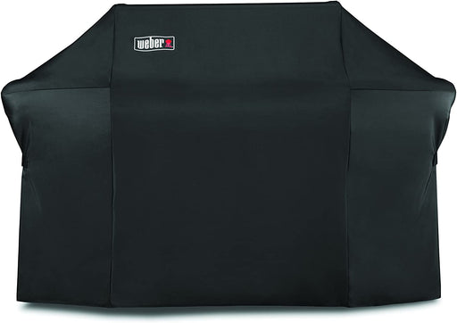 Weber 7109 Grill Cover with Storage Bag for Summit 600-Series Gas Grills,Black