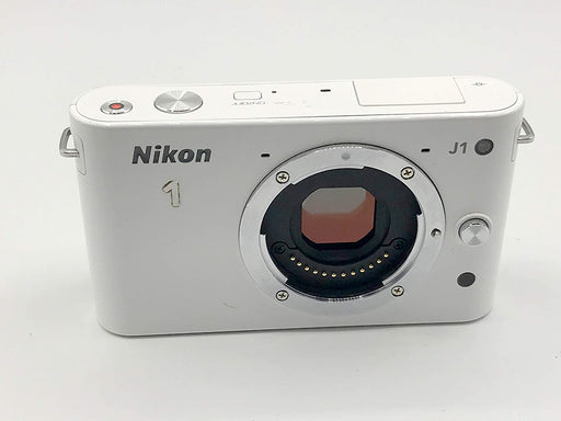 Nikon 1 J1 10.1 MP HD Digital Camera Body Only (White)
