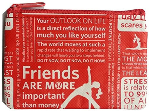 "NEW Lululemon Zipper Pouch for Credit Cards ID Lipsticks keys Foundation Money Coin Purse 3"" x 4.5"""