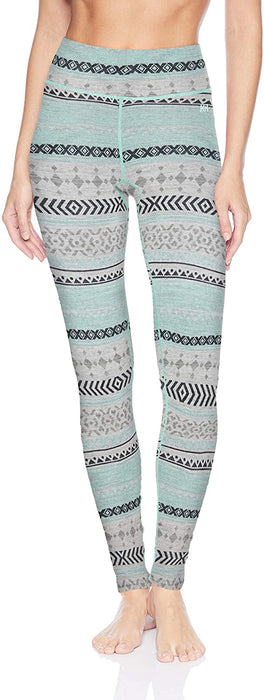 Helly-Hansen Women's W Merino Wool Mid Graphic Baselayer Pants