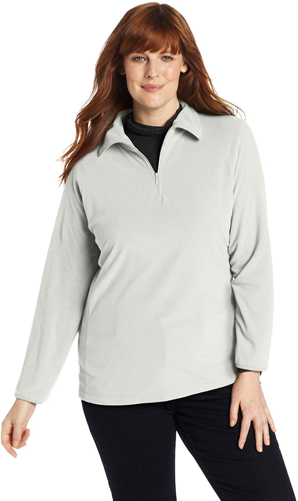 Columbia Women's Glacial Fleece Iii Plus Size 1/2 Zip