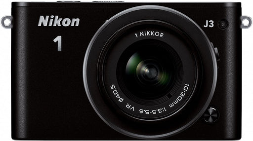 Nikon 1 J3 14.2 MP HD Digital Camera with 10-30mm VR 1 NIKKOR Lens (White)