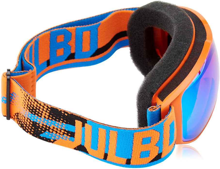 Julbo Eyewear Juniors Echo (7-10 Years Old) Orange/Blue With Spectron 3 Color Flash Lens One Size