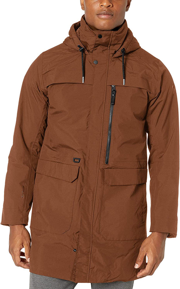 Helly-Hansen mens Waterville Long Fully Waterproof Breathable Light Primalof Insulated Parka Coat