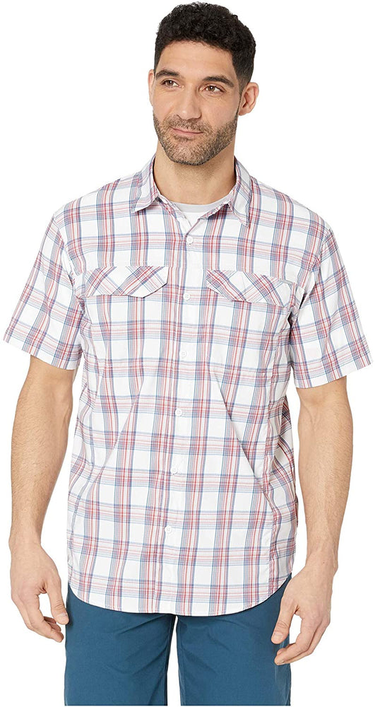 Columbia Mens Silver Ridge Lite Plaid Short Sleeve