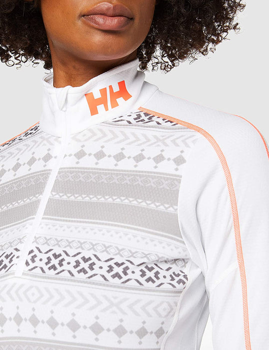 Helly-Hansen W Hh LIFA Active Graphic 1/2 Zip Baselayer Top