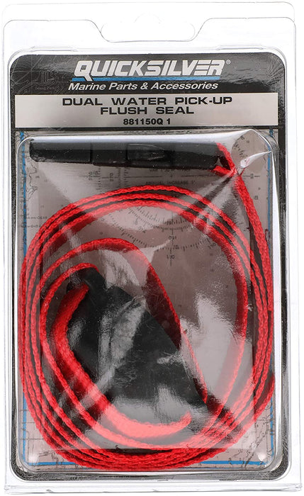Quicksilver 881150Q1 Dual Water Pickup Flush Seal Kit