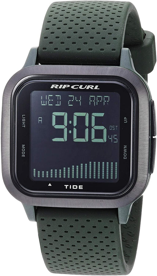 Rip Curl Men's Quartz Sport Watch with Silicone Strap