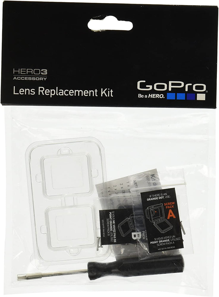 GoPro HERO3 Lens Replacement Housing Kit (GoPro Official Accessory)