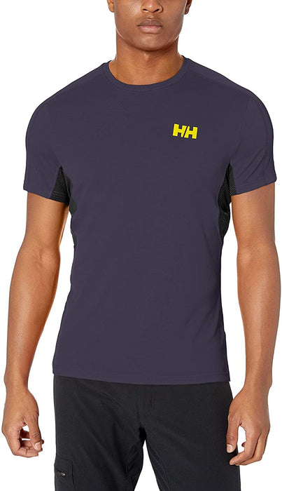 Helly-Hansen Mens Hh LIFA Active Mesh Shortsleeve Baselayer Wicking Top