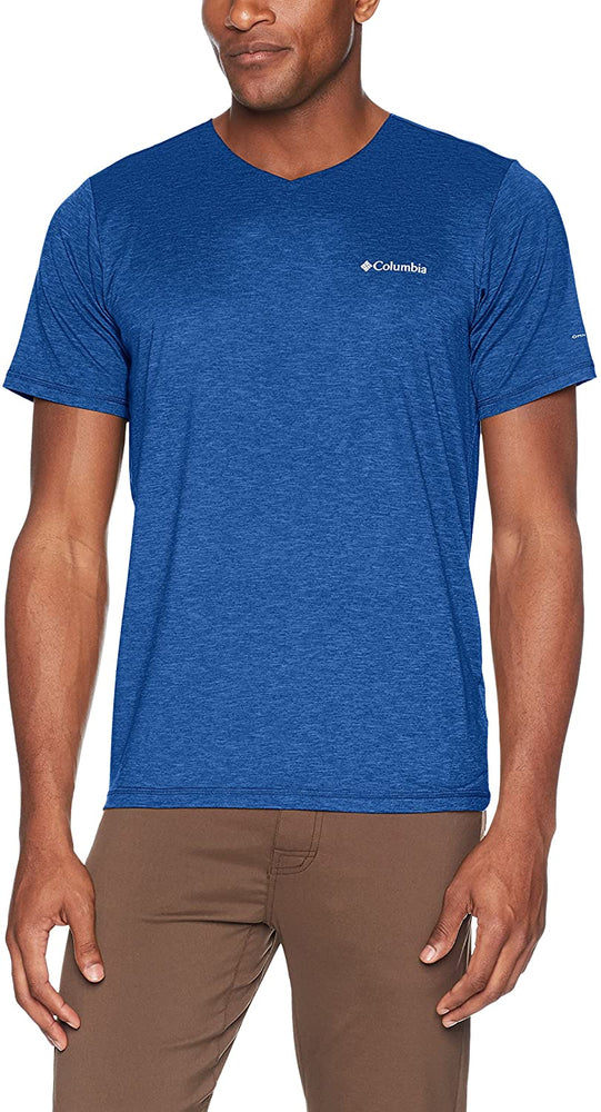 Columbia Mens Tech Trail V-Neck Shirt