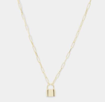 GORJANA - KARA PADLOCK CHARM NECKLACE - LULUKISS Boutique