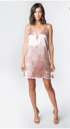 PRETTY IN PINK DRESS - Lulu Kiss