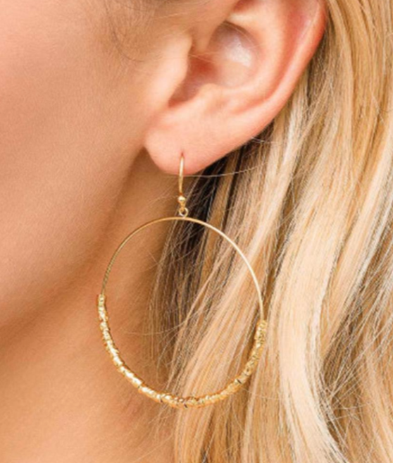 GORJANA LAGUNA DRO9P HOOP EARRINGS - Lulu Kiss