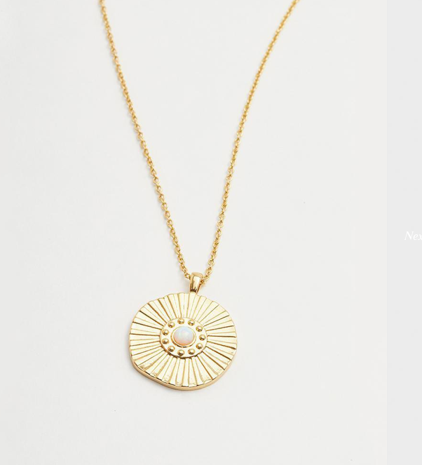 GORJANA Sunburst Coin Necklace - Lulu Kiss