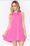 HAUTE PINK MINI DRESS - Lulu Kiss