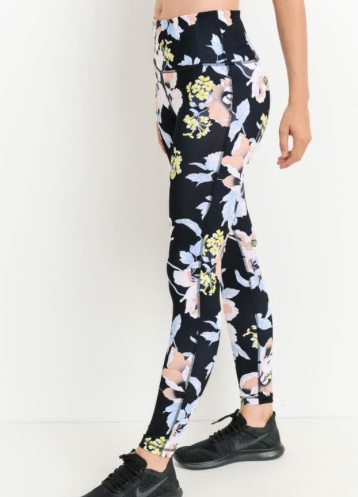 FLOWER POWER EXERCISE PANTS - Lulu Kiss