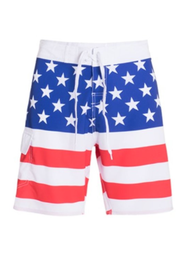 USA PROUD SWIM TRUNKS - LULUKISS Boutique