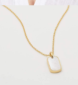 GORJANA - GRIFFIN GEM DOG TAG NECKLACE - Lulu Kiss
