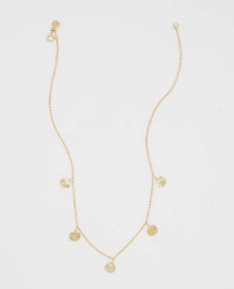 GORJANA - CRUZ MIXED COIN NECKLACE - Lulu Kiss