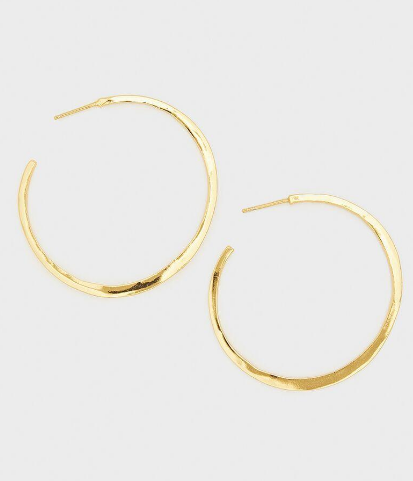 GORJANA - ARC LARGE HOOPS EARRINGS - Lulu Kiss