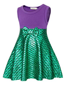 ARIEL PRINCESS SHIMMER DRESS - Lulu Kiss