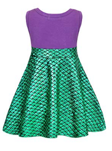 ARIEL PRINCESS SHIMMER DRESS - LULUKISS Boutique