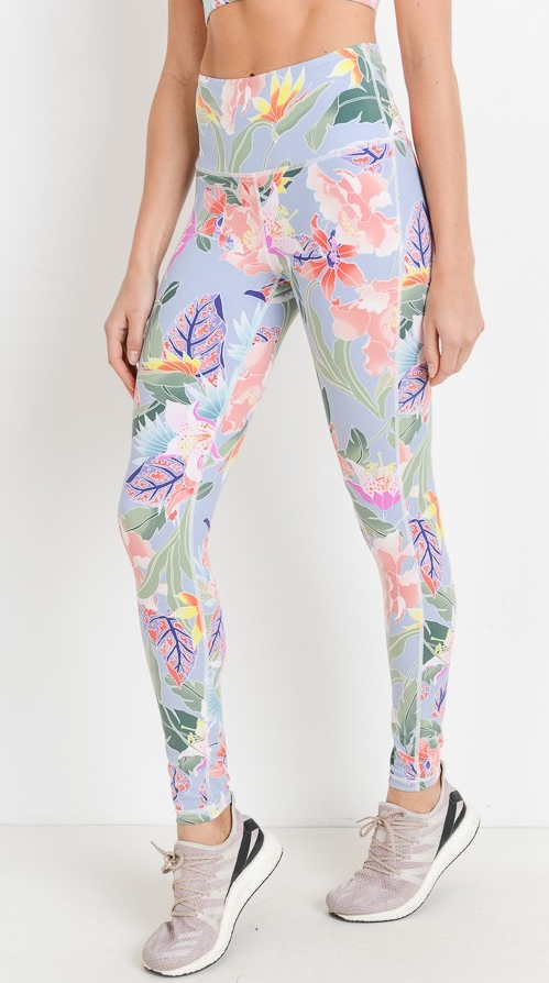 ISLAND GIRL EXERCISE PANTS - Lulu Kiss