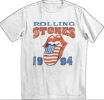 ROLLING STONES OFFICIAL VINTAGE ROCK BAND CONCERT T-SHIRT - LULUKISS Boutique