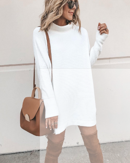 WHITE SHIRT DRESS - Lulu Kiss