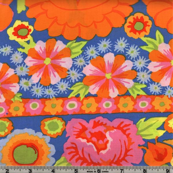 Kaffe Artizan -  Embroidered Flower Border PWKF001 Orange