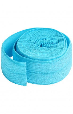 Parrot Blue Fold-over Elastic SUP211-2