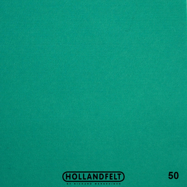 100% Wool Felt Colour 50 - Ice Green