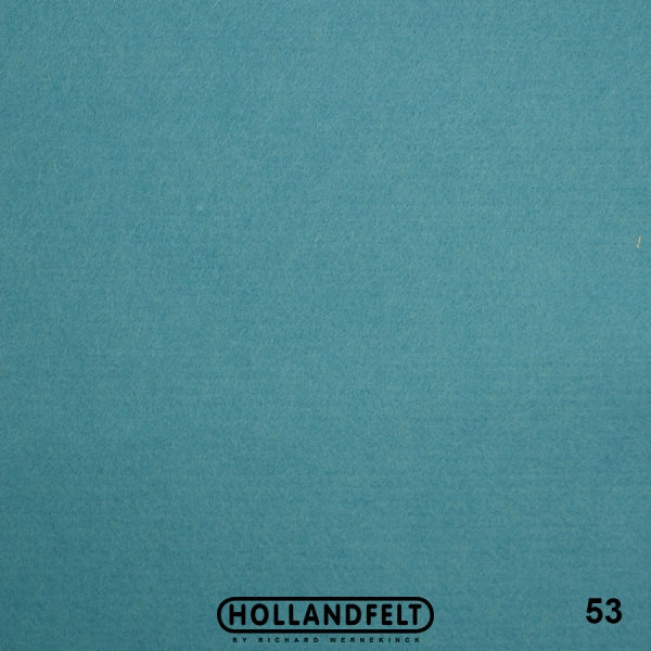 100% Wool Felt Colour 53 - Light Blue