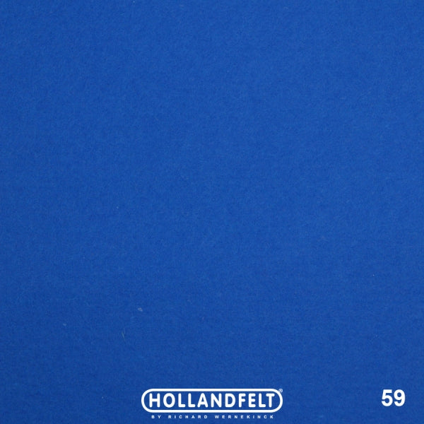 100% Wool Felt Colour 59 -  Royal Blue