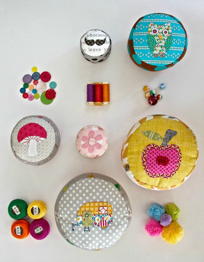 Pincushion Party by Louise Pappas